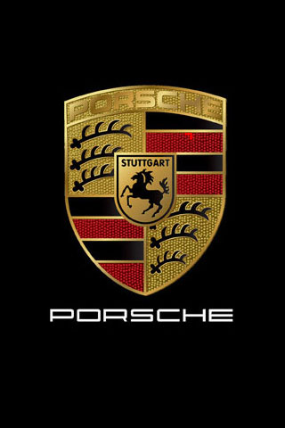 Porsche Logo iPod Touch Wallpaper