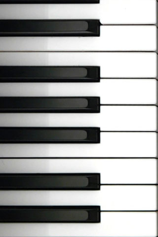 Piano iPod Touch Wallpaper