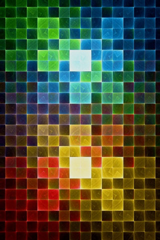 Color Squares iPod Touch Wallpaper