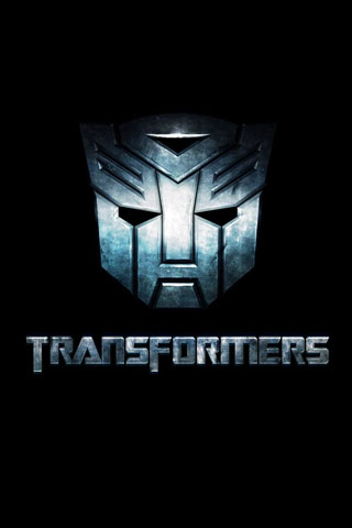 Transformers Logo iPod Touch Wallpaper