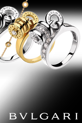 Bvlgari iPod Touch Wallpaper