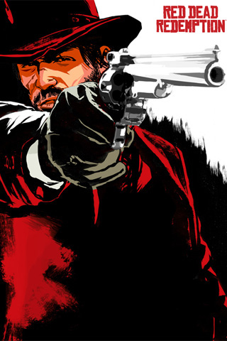 Red Dead Redemption iPod Touch Wallpaper